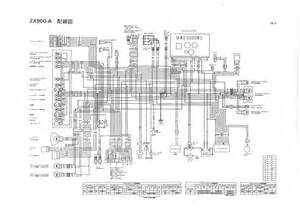 Solved  I Need A Wiring Diagram For A Kawasaki Gpz900r Can