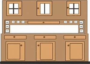 cupboards clipart clipground With what kind of paint to use on kitchen cabinets for laundry symbols wall art