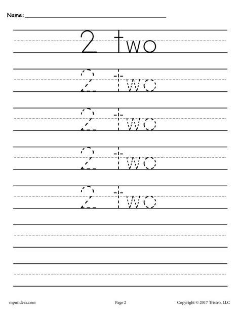 number tracing worksheets 1 20 supplyme