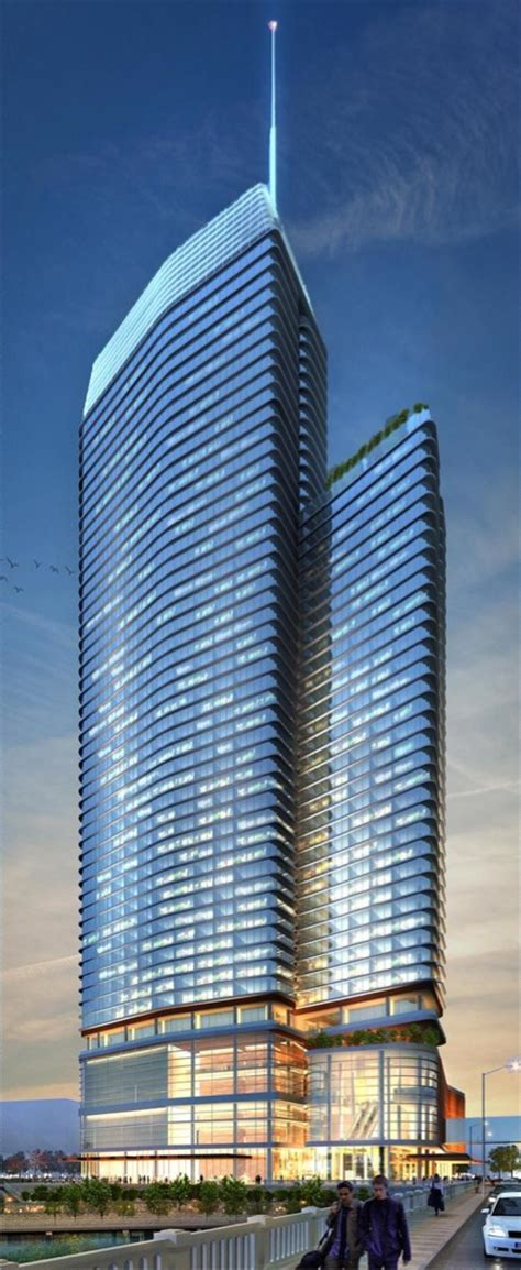 New 50story Modern Hotel Proposed For Downtown, Battle