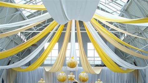 Drape Decoration - wedding drapes hire and design services sxs events