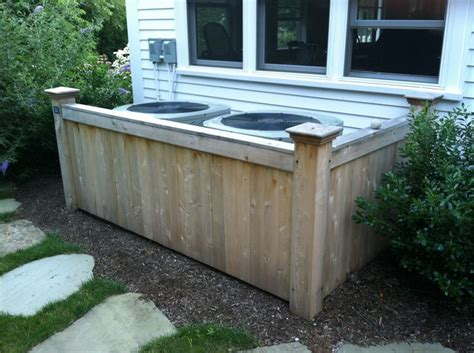 hide air conditioner fence to hide air conditioner unit fence hiding ac units home pinterest hide air
