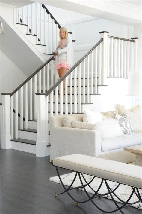 staircase railing ideas images awesome  home