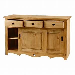 caisson cuisine bois elements bas meuble bas cuisine bois With deco cuisine pour meuble en pin massif