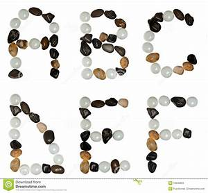 letters made of stones stock photos image 18340863 With pictures made of letters