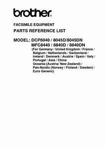 Mfc8840d Manuals