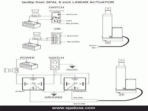 Electric Linear Actuator Wiring Diagram Forums