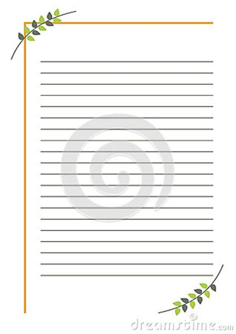vector blank  letter  greeting card simple form