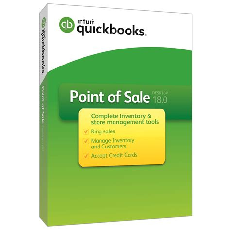 quickbooks point  sale  latest version basic