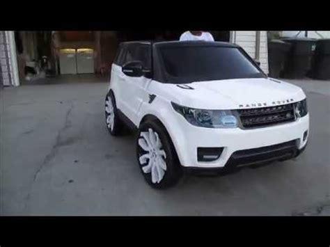 power wheels range rover sport custom youtube