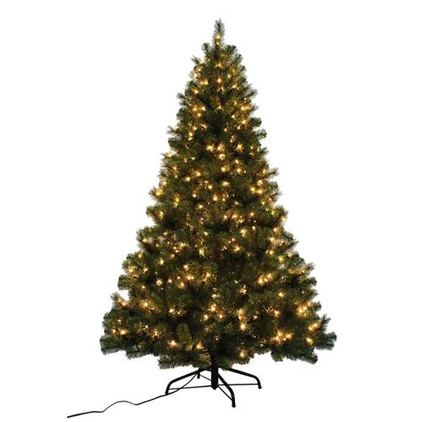 home accents holiday 7 ft noble fir quick set artificial