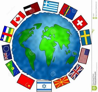 Flag Planet Flags Globe Royalty Dreamstime