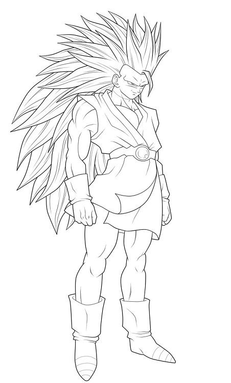 desenhos  colorir goku dragon ball