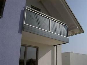 Balkongeländer Glas Anthrazit : balkongel nder und balkonverkleidungen aus alu ral pulverbeschichtet ~ Michelbontemps.com Haus und Dekorationen