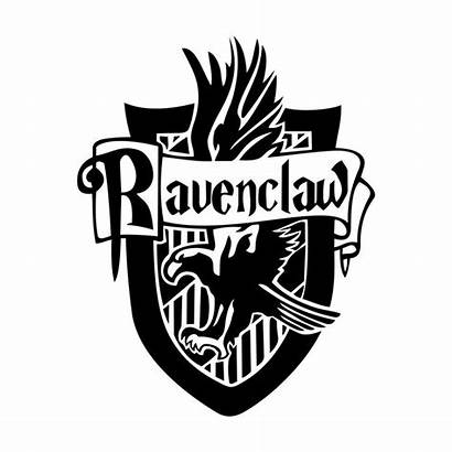 Potter Harry Ravenclaw Crest Vector Silhouette Clipart