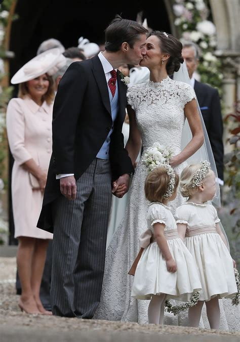 Pippa Middleton and James Matthews First Married Couple Photos
