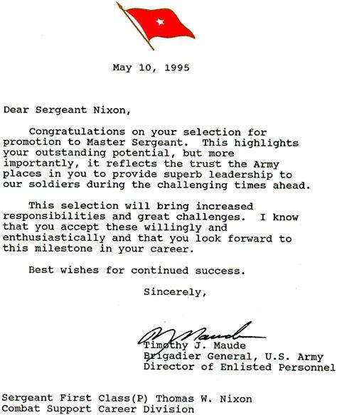 general officer letters