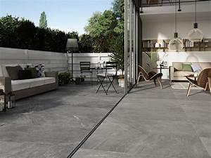 Carrelage Extérieur Terrasse : carrelage terrasse design awesome amazing pose carrelage ~ Voncanada.com Idées de Décoration