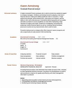 sample college graduate resume 8 free documents With college graduate resume template
