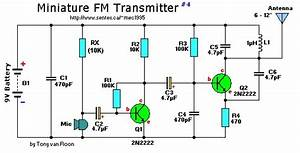 2 Transistor Mini Fm Transmitter