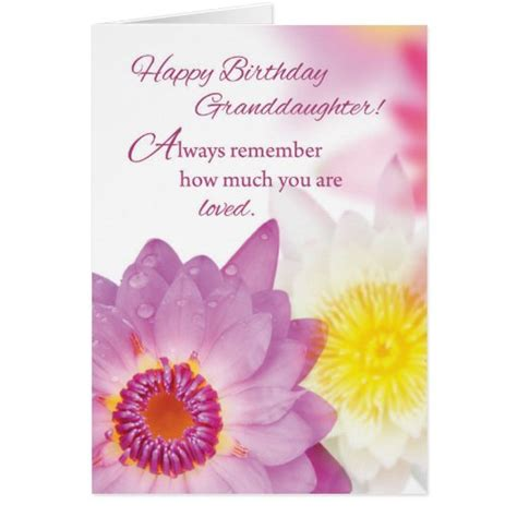 Christian birthday cards with envelopes (4 x 6 in, 48 pack) 4.8 out of 5 stars. Granddaughter Birthday, Flowers, Religious Card   Zazzle