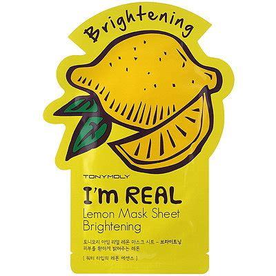 im real lemon mask sheet ulta beauty