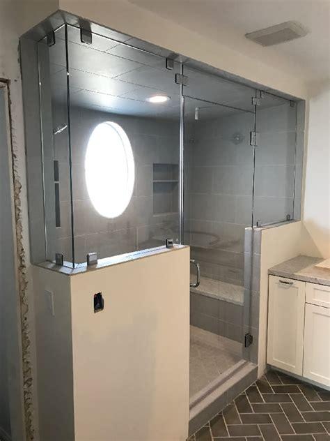 steam shower glass la jolla patriot glass  mirror