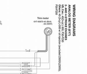 Yamaha Trim Gauge Wiring Diagram