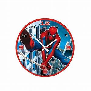 Spiderman wall clock india for Spiderman wall clock india