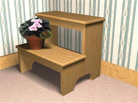 step stool plans images  pinterest step stools