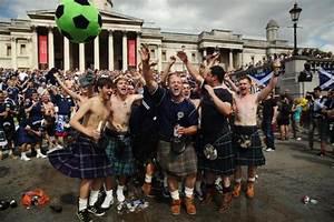 scottish suspects arrested fan clash