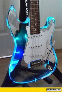 Awesome See Through Guitar