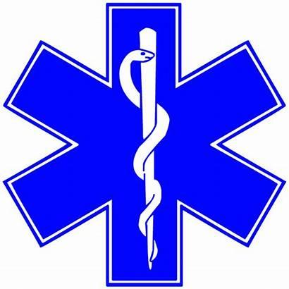 Star Symbol Medical Clip Clipart Ems Emt
