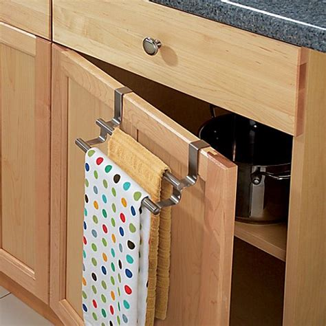 towel rack for kitchen cabinet interdesign 174 forma 174 the cabinet towel bar 8563