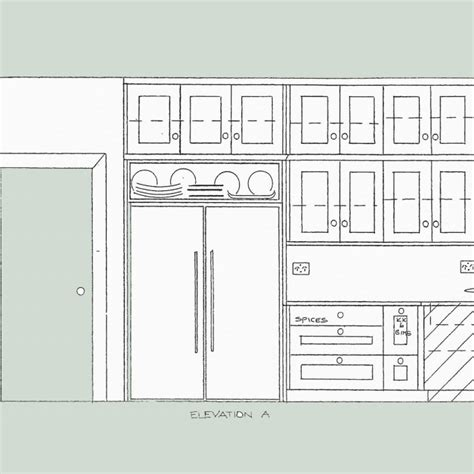 kitchen cabinet design template 23 kitchen cabinet layout template do it yourself kitchen 5240