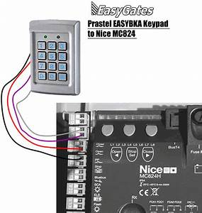 Prastel Easybka To Nice Mc824h Wiring Diagram
