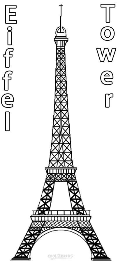eiffel tower coloring pages christmas coloring pages