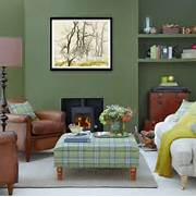 Photos Of Living Rooms With Green Walls by 26 Relaxing Green Living Room Ideas Decoholic