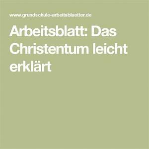 Baufinanzierung Leicht Erklärt : arbeitsblatt das christentum leicht erkl rt christentum ~ Michelbontemps.com Haus und Dekorationen