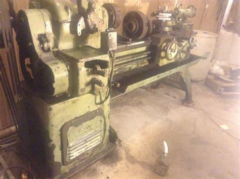 fs carroll jamieson engine lathe  runs