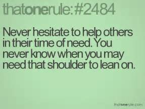 Quotes About Helping Others in Need of Time