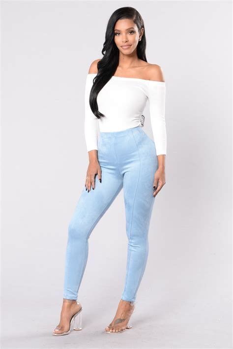 sophisticated pant denim blue