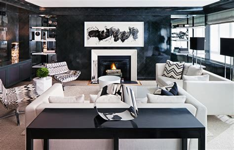 Schwarze Wand Wohnzimmer by How To Ace Decorating With Walls Photos