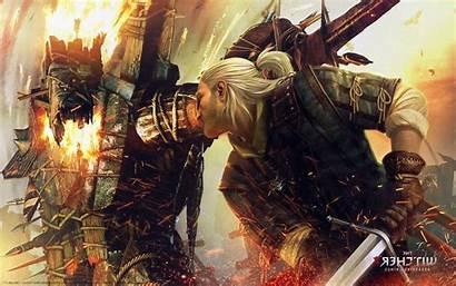 Witcher Geralt Rivia Kings Desktop Wallpapers
