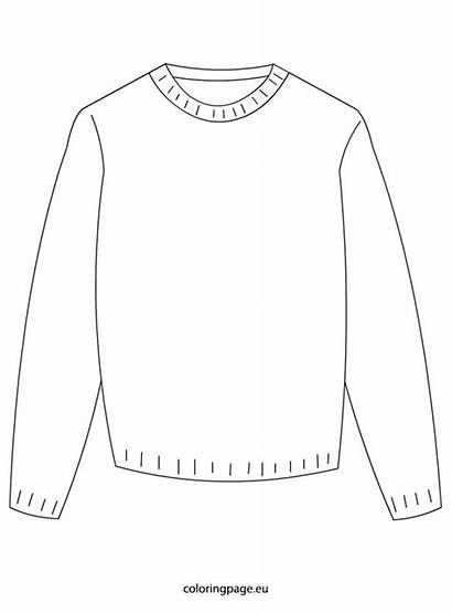 Sweater Coloring Christmas Pages Winter Ugly Sweaters