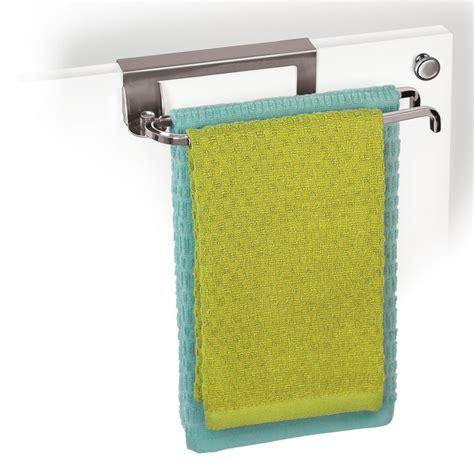 kitchen cabinet towel bar over cabinet door towel bar chrome in kitchen towel holders