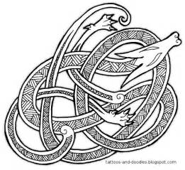 viking designs tattoos and doodles knot a