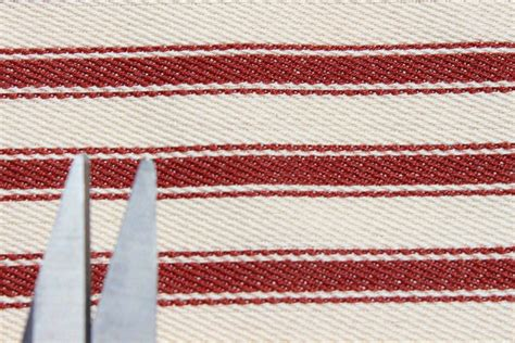 Ticking Upholstery Fabric by 100 Cotton Woven Ticking Stripe Deck Chair Furniture