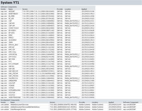 upgrade of sap netweaver 7 0 ehp1 java sp application sap4admin