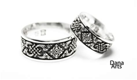 Matching Wedding Bands Celtic Knot